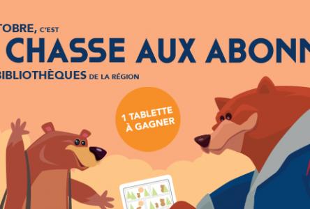 Le Réseau BIBLIO de la Côte-Nord part à <i>La chasse aux abonnés</i>