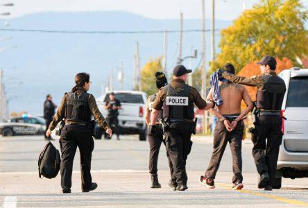 Conclusion de deux opérations policières reliées