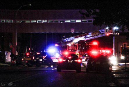 Les pompiers interviennent à l'hôpital de Sept-Îles