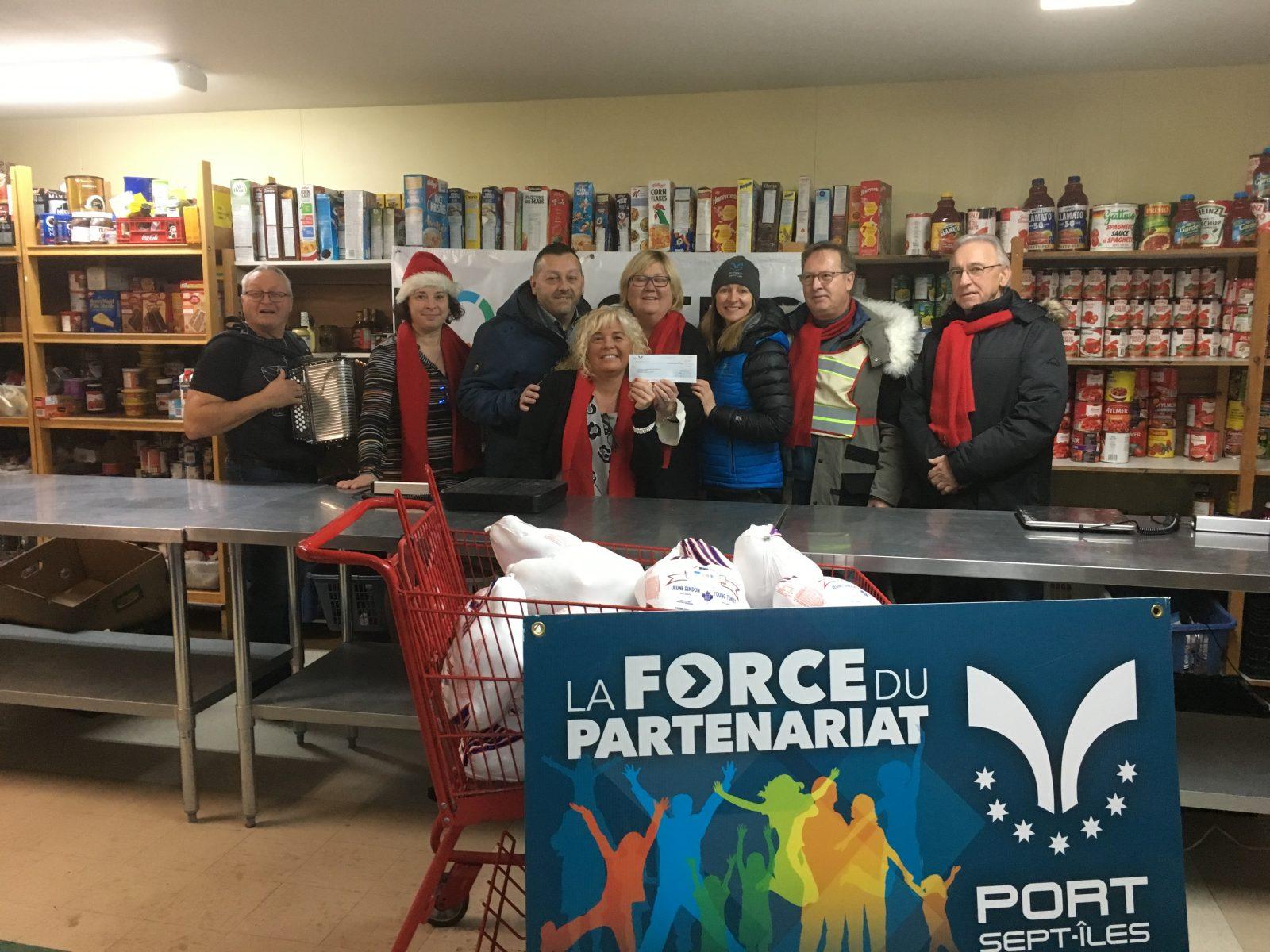 Le Comptoir alimentaire de Sept-Îles prévoit une collecte le 26 novembre
