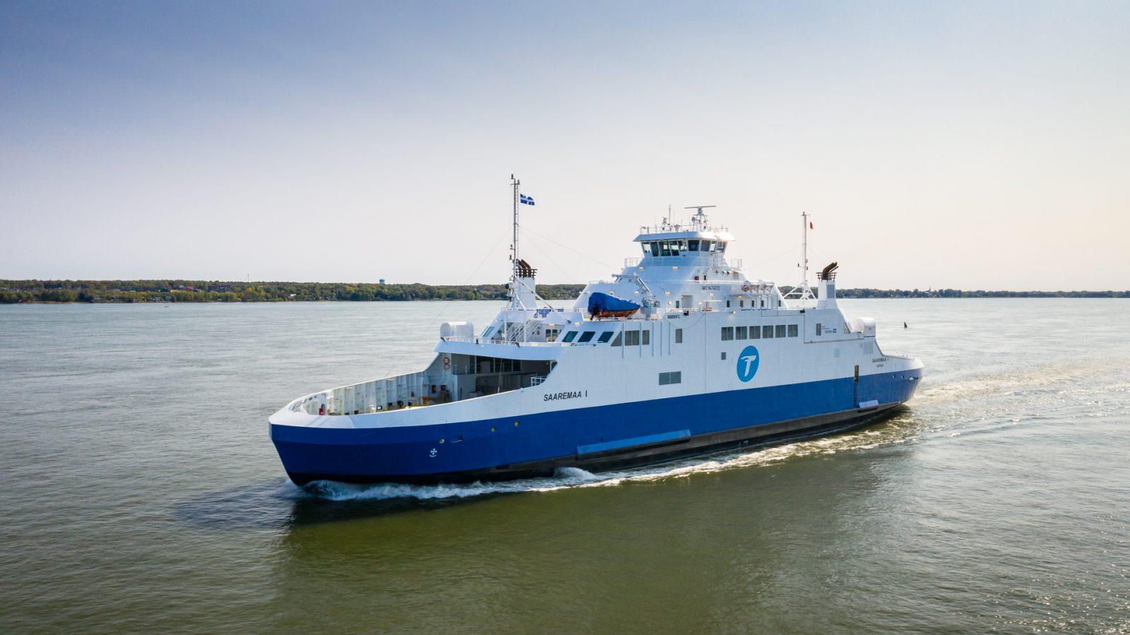 Le Saaremaa I traversera lundi