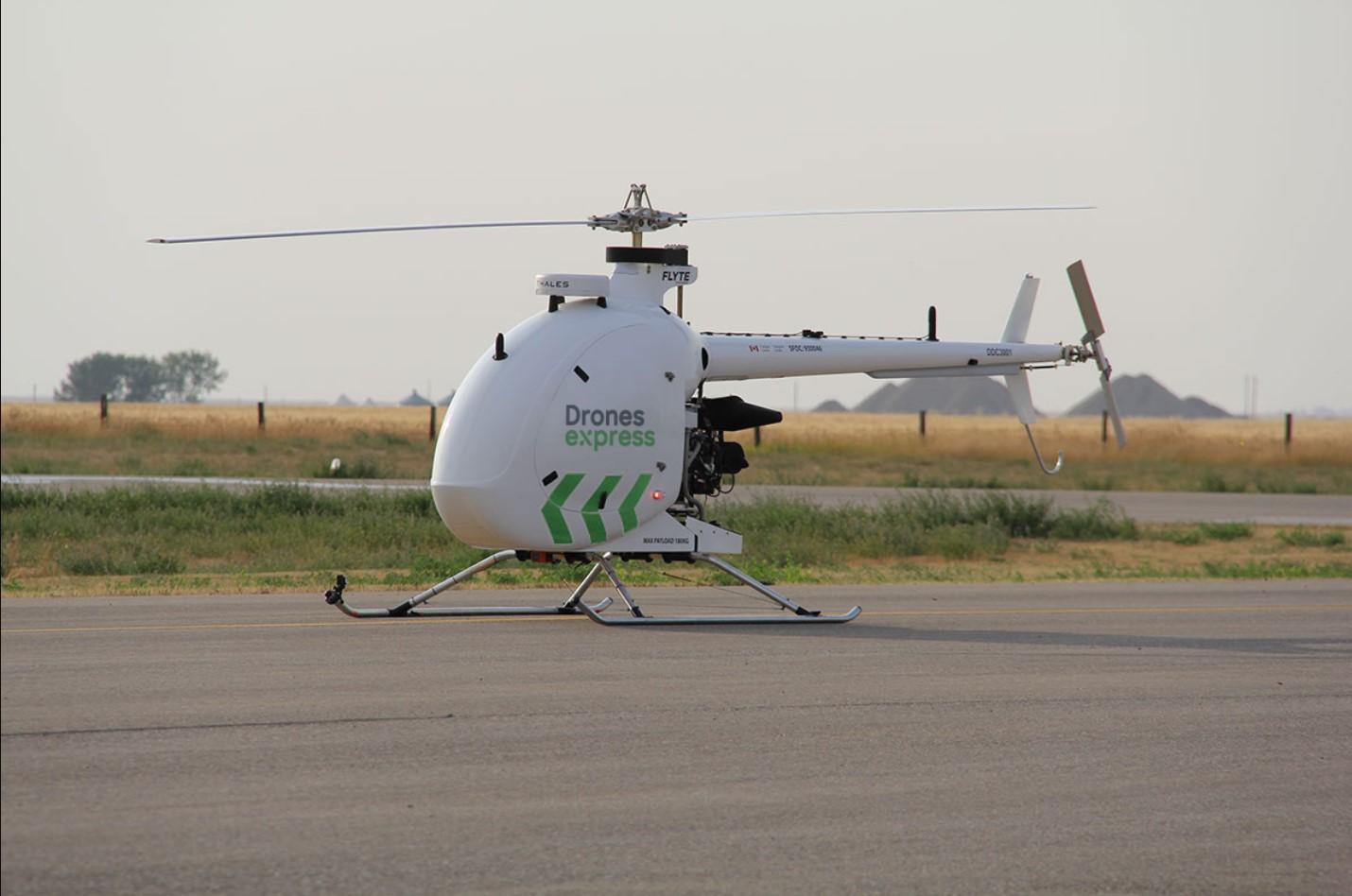 Un projet de transport de colis par drone sur la Basse-Côte-Nord