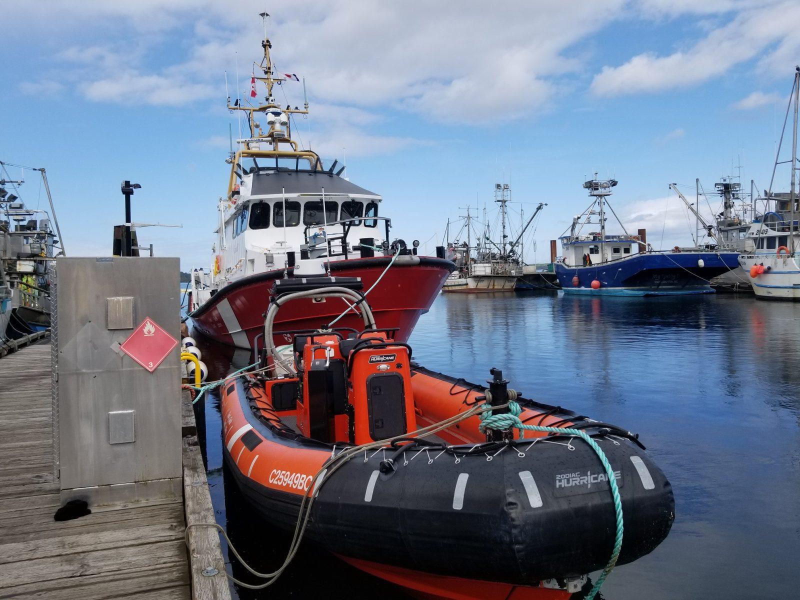 Fermeture de bases saisonnières de recherche et sauvetage de la Garde côtière canadienne pour l'hiver