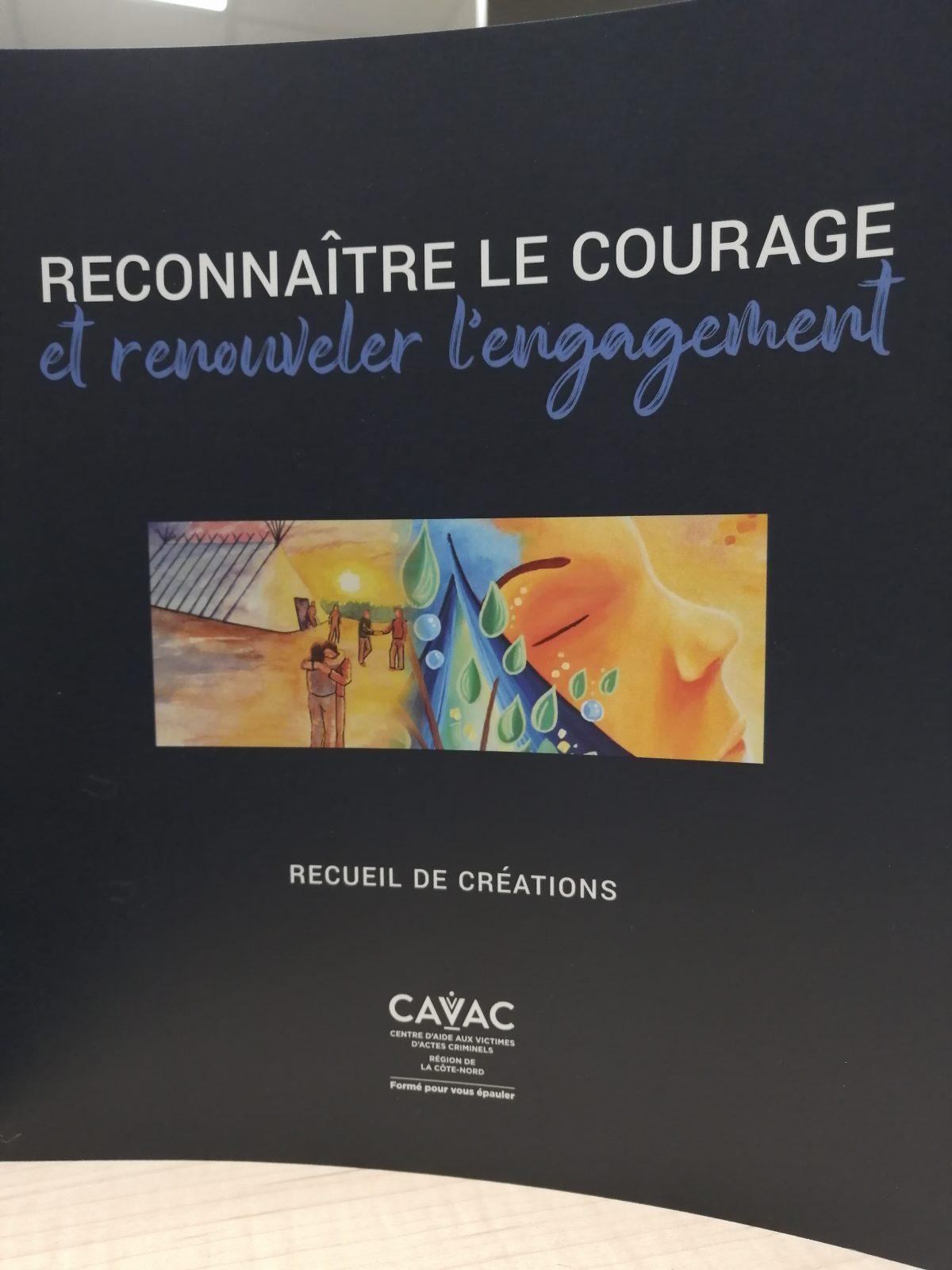Le CAVAC Côte-Nord lance un recueil de créations