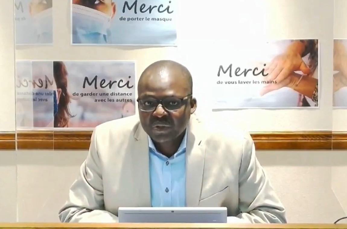 COVID-19 : « La situation reste préoccupante» – Dr Richard Fachehoun