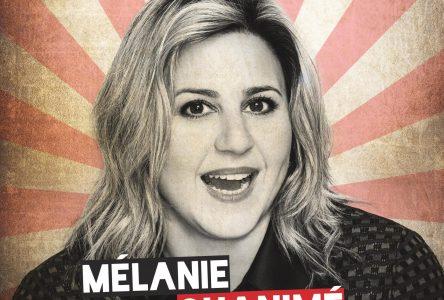 L'émission Comédie sur mesure et Mélanie Ghanimé seront à Havre-Saint-Pierre