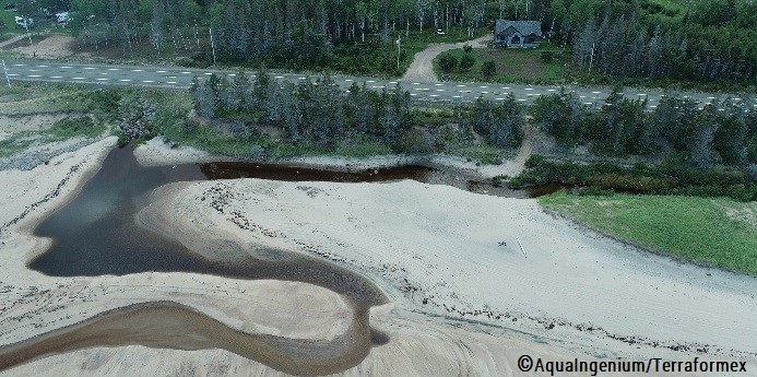 Un projet de conservation de l'habitat du capelan et de protection de la route 138 à Port-Cartier