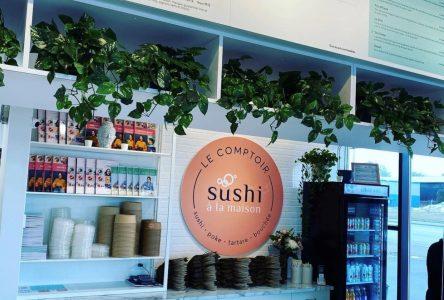 Le comptoir Sushis à la maison bientôt à Sept-Îles
