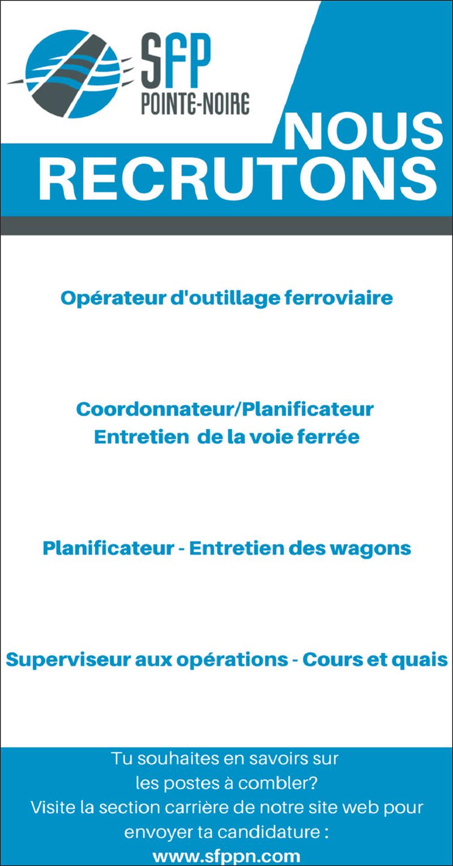 Opérateur d'outillage – Coordonnateur – Planificateurs – Superviseur